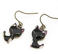 Fashion Retro Cute Little Cat Earrings