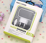 HISCONTON/MCH-226-V8 Car Charger for Samsung and Other Cellphone 1M(5V,1.2A)