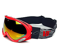 HB Red Frame Protection Wind & Snow Goggles