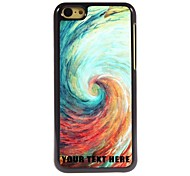 Personalized Phone Case - Vortex Design Metal Case for iPhone 5C