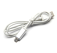 1.5M 4.92FT USB2.0 to Micro USB2.0 M/M glow USB extension data cable For millet Samsung HTC Huawei Android mobile phone