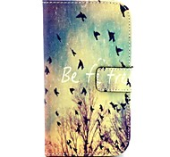 Free Bird Pattern PU Leather Full Body Case with Stand for Galaxy Grand Neo I9060