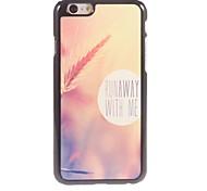 Dusk Grass Design Aluminium Hard Case for iPhone 6