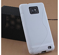 S Line TPU Soft Case for Samsung S2 I9100 (Assorted Color)