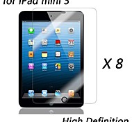 [8-Pack] Premium High Definition Clear Screen Protectors for iPad mini 3
