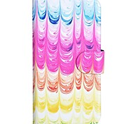Lce Cream Pattern PU Mobile Phone Holster With Card Slot for Samsung S3/i9300