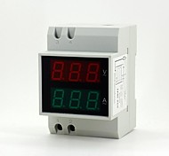 "0.55"" 6-digit LED Digital Current / Voltage Measuring Ammeter / Voltmeter"