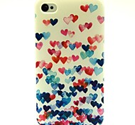 wenig Liebe Muster TPU Soft Cover für iPhone 4 / 4S