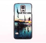 персонализированные телефон случае - трава и металлический корпус дизайн море для Samsung Galaxy S5 мини