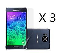 (3 pcs)High Definition Screen Protector for Samsung Galaxy Alpha G850