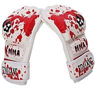 Тренировочные боксерские перчатки Перчатки для грэпплинга Лапы и макивары Боксерские перчатки для Боевое искусство Без пальцевДышащий