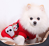 Christmas Style Snowman Pattern Sweater for Pets Dogs (Assorted Sizes)