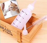 Four-Piece A Set Milk Bottle for Pet Dogs and Cats