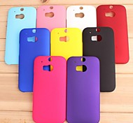 Pajiatu Hard Mobile Phone Back Cover Case Shell for HTC One M8/M8t/M8w (Assorted Colors)