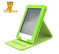 Shy Bear™ Stand Style Slim PU Leather Cover Case for Kobo Touch 6 Inch Ebook Reader