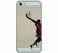 баскетбол серии Slam Dunk модель ПК жесткие прозрачной задней крышки корпуса для iPhone 5/5 секунд