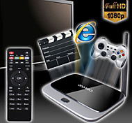x6 android 4.4 box Smart TV (wifi, blue-tooth, LAN, USB, HDMI, tf)