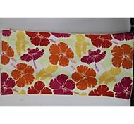 Superfine Fiber Red Flower Sport Towel