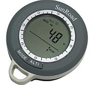 mulitfasional mini altimetro digitale rateo di salita termometro barometro previsioni del tempo Bussola tempo