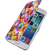 Stained Glass Magnetic Flip Full Body Case with Hole for iPhone 6