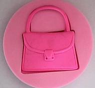 сумочка помадные торт силиконовые формы торт украшение инструменты, l7cm * w7cm * h1.3cm