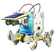 neje bricolaje 14 en 1 con energía solar patrón robot bloque de construcción de montaje