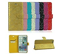 4.7 Inch Diamante Pattern PU Wallet Leather Case for iPhone 6 (Assorted Colors)