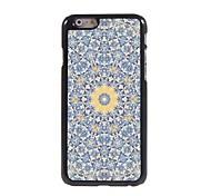 Yellow Flower Design Aluminium Hard Case for iPhone 6
