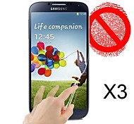 mat protecteur d'écran pour le i9500 de Samsung Galaxy (3pcs)