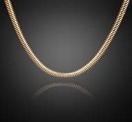 nie verblassen jack Männer 24k reales Gold überzogen figaro dicken runden Halskettenqualität für Männer 8mm 75cm