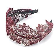 1PC Korean Flowers Gilt Lace Headband Hair Band(Random Color)