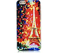 Eiffel Tower Pattern Hard Back Case for iPhone 6 Plus