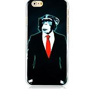Suit Orangutans Pattern Hard Back Case for iPhone 6