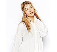 Wedding Top Fashion Circles Tri-color Chain Hair Accessories Wholesale CF107
