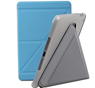 Ultra-Thin Dormancy Multi-Function Support Cases PU Full Body Case for iPad mini2/3/4 (Assorted Colors)