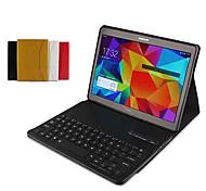 suoshi 10,5 Zoll PU-Leder Tablet PC Tasche Hülle mit Bluetooth-Tastatur für Samsung Galaxy Tab s