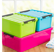 Colourful Thick Plastic Clothes Storage Box chest K3829