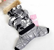 Dog Coat / Hoodie Red / Black / Blue / Pink / Purple / Orange Winter Sport Waterproof / Fashion / Keep Warm