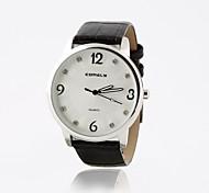 relógio de luxo de diamante eiffel das mulheres da moda personalizados torre pu banda