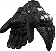 PRO-BIKER™ High Quality Winter Warm Protective Full Finger Racing Bike Glove (Sheep Leather)