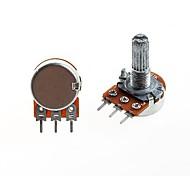 WH148 Type Single Unit Potentiometer B1K Long Handle 20mm (5 PCS)