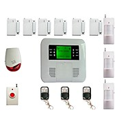 Cellular Wireless Security Alarm System Double Protection Auto Dial Kit