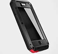 Aluminum Gorilla Glass Metal Waterproof Shockproof Cover Case for iPhone 5C(Assorted Colors)