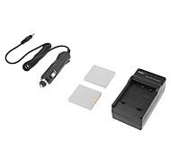 3.7v 1200mAh FNP-40 Camera Battery for Pentax DL-i8/DLi8/D-L18/DL18/NP-40/FNP40 with Charger(2 Batteries+1 Charger)