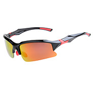 Cycling Mirrored PC Wrap Fashion Sports Glasses