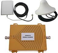GSM/DCS 900/1800MHz Dual Band Mobile Phone Signal Booster Repeater Amplifier Antenna Kit