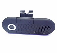Car Wireless Stereo Bluetooth Handsfree Speaker Phone Multipoint With Car Charger - Black