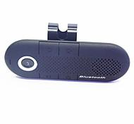 coche inalámbrica Bluetooth estéreo multipunto altavoz del teléfono manos libres con cargador de coche - negro