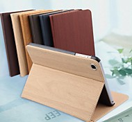 alta calidad pura madera de color patrón de grano funda para ipad 4 (colores surtidos)