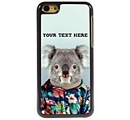 Personalized Phone Case - Koala Design Metal Case for iPhone 5C